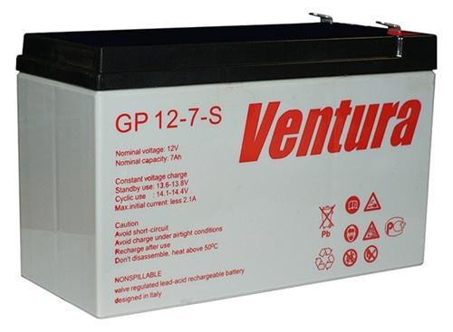 Изображение Аккумулятор GP Ventura 12V - 7Ач.