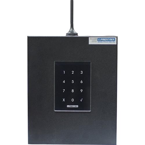Изображение S632-2GSM-KBK24-BB (под АКБ 1,2 Ач, с клавиатурой, цвет бокса черный, цвет клавиатуры черный)