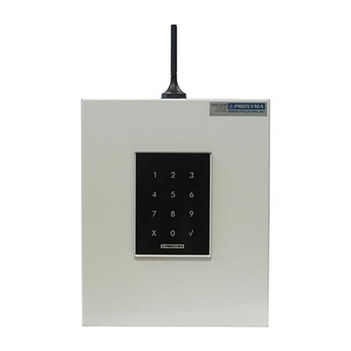 Изображение S632-2GSM-KBK24-WB (под АКБ 1,2 Ач, с клавиатурой, цвет бокса белый, цвет клавиатуры черный)