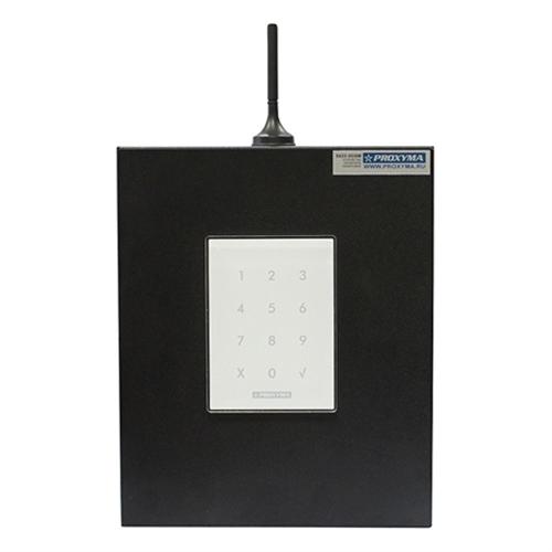 Изображение S632-2GSM-KBK24-BW (под АКБ 1,2 Ач, с клавиатурой, цвет бокса черный, цвет клавиатуры белый)