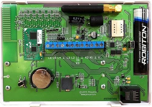 Изображение W500 Optima Объектовый прибор в корпусе клавиатуры. (со встроенным li-ion АКБ 3,7В 2500мА/ч,) встроенный радиоприемник Астра РИ-М